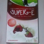 susu kambing etawa super-e strawberry