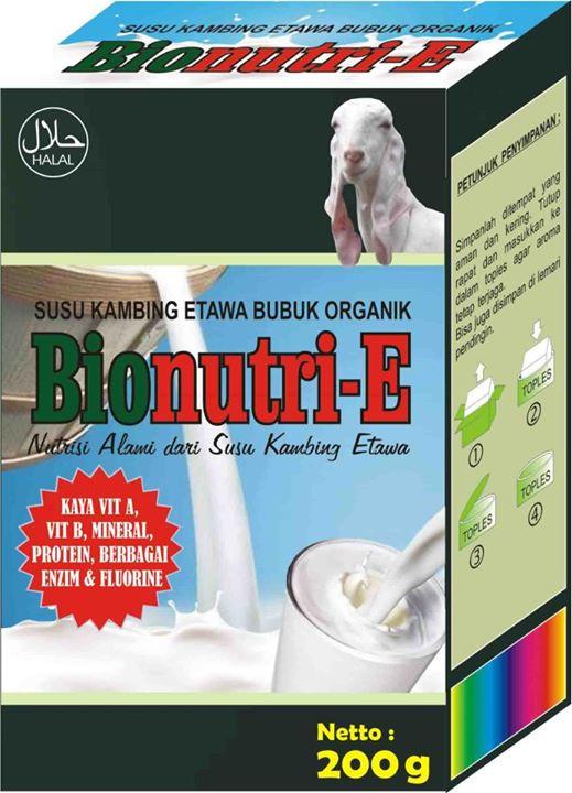 susu kambing murni bionutri