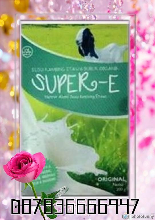 Keunggulan Susu Kambing Etawa Super-E